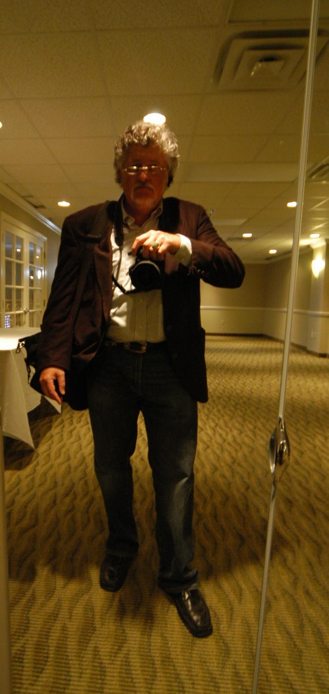 Fletch self portrait w camera Harlan
